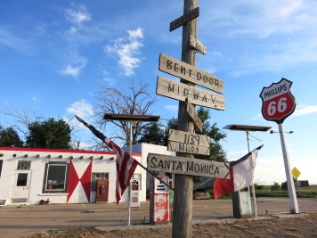 Route 66 Abandoned Station