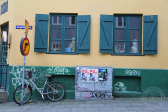 Reykjavik street corner