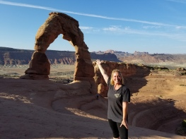 A hike to Arches National Park in Utah