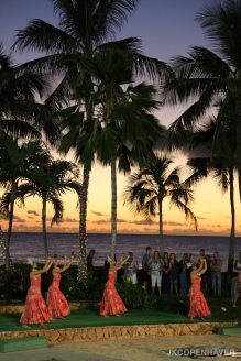 I booked a Christmas Day luau with Paradise Cove and thoroughly enjoyed it. What a memorable way to spend Christmas. Even though I was by myself, I still had a great time!